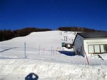 ジムニーで湯の丸スキー場へ行きました