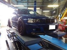 BWIブレーキパッドインストール!!E46 M3!!