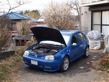 一様洗車して~油も差して~