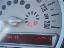 久々に燃料計を見たら