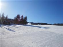やっぱりスキーは平日がいいですね
