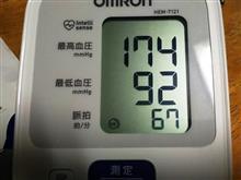血圧測定は数字が……