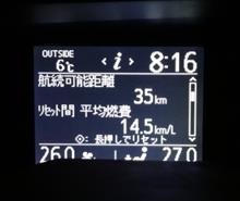 ノアの高速移動燃費はまあまあか