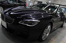 「心奪われる流麗なフォルム」BMW 640iグランクーペ Mスポーツのガラスコーティング【リボルト郡山】