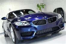ツールックのスタイルを楽しめる BMW・Z4のガラスコーティング【リボルト佐賀】