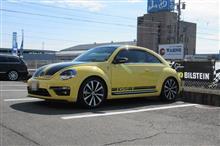 継続車検...完了 the beetle 色々なメンテナンスも施しました。