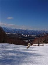 スキーに行ってきたよ!