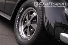 VW Type-1 アルミホイール磨き&タイヤ交換編