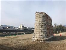 肱川橋煉瓦製橋脚