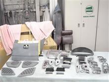内装 内貼り センターコンソール シボ取り 塗装 愛知県豊田市 倉地塗装 KRC
