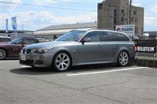 メンテナンスは大事...BMW E61 525 エンジンオイル交換+エレメント交換