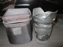 シグマの17-50mmF2.8を買いました