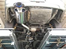 S15シルビア スーパーターボマフラー取り付け!!