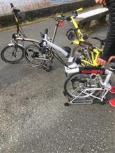 昨日はモーターボートチャーターして自転車乗せて家族で満喫
