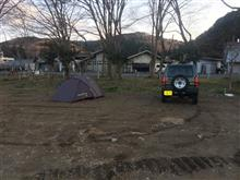 平日ソロキャンプ