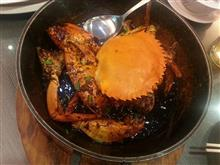 ある日の晩御飯20 シンガポールの上海蟹