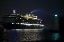 神戸港にクイーンエリザベスを撮りに行ってきました♪