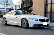 BMW Z4 E89 H&Rダウンサスにてローダウン☆