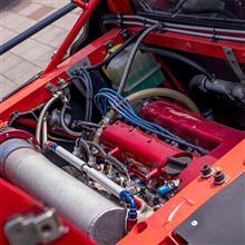 【試乗】アタカ・エンジニアリング / HAWK HFR2000 (ランチア・ストラトス・レプリカ) Part.3 御開帳~エンジン、トランスミッション