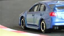 ミニカー撮影:スバル WRX STI Type S サーキット編