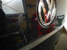 雨の止みまに軽めの洗車 ・・・o(▼_▼θ