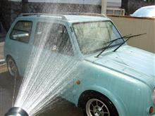 天候回復で洗車♪