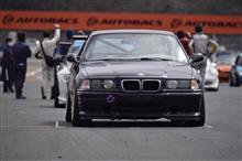 E36M3レースカーシェイクダウン&ユーロカップ岡山国際サーキット。