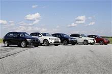 BMWもSUVメーカーになってきたな…
