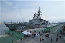 護衛艦はたかぜ/いかづち見学→R152草木TNなど。
