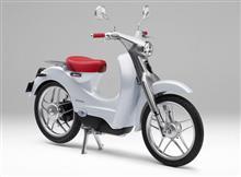 郵便配達用バイクが電動スーパーカブ