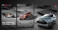 2017 Mitsubishi Pajero Sport New TV-CM : Thailand ・・・・