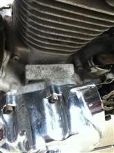 ビラーゴ125のエンジン乗せ換え