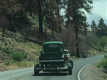 オレゴンの山で出会った旧車・・