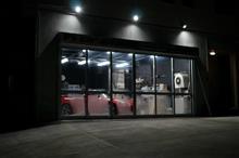サンバーDIAS super charger 1工程目の磨き作業を終え2工程目を途中まで^^