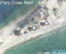 スプラトリー 中国軍施設ほぼ完成