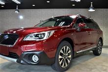 上質なワゴンとタフなSUVのクロスオーバー スバル・レガシーアウトバックのガラスコーティング【リボルト高崎】