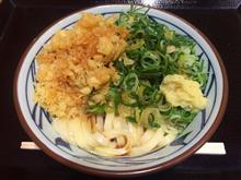 讃岐 釜揚げうどん 丸亀製麺 芝浦シーバンス店