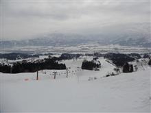 春スキー♪