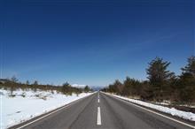 榛名山~浅間山雪道ドライブ