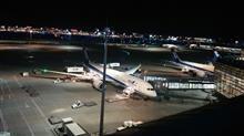 羽田空港を満喫