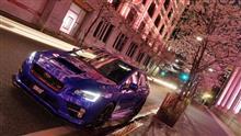 東京夜桜偵察