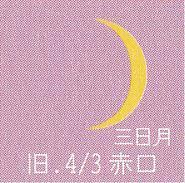 月暦 4月28日(金)