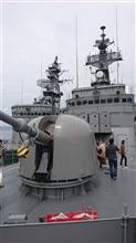 練習艦「しまゆき」の艦艇一般公開^^その3