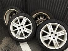 洗車ではなく洗輪