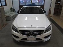 メルセデス・ベンツ Mercedes-AMG C 43 4MATIC Cabriolet(カブリオレ)、採寸&装着確認(完成)