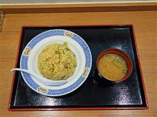 山陽道下り玖珂PA チャーハン590円