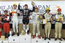 全日本ジムカーナRd2エビス3位表彰台♪
