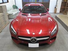 メルセデス・ベンツ Mercedes-AMG GT S、採寸&装着確認(完成)