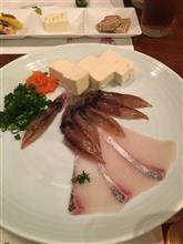 4月24日 〜懇親会〜。料理の一部。