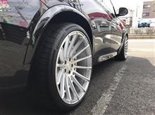 BMW:E91 アメ車!!??タイヤ交換!!!  FIT都筑店です(*'▽')